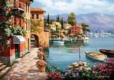 ANATOLIAN JIGSAW PUZZLE VILLA DE LAGO SUNG KIM 1500 PCS ITALY #4524