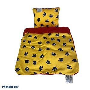 Build A Bear Buddies Overnite Set Bedding Blanket Pillow