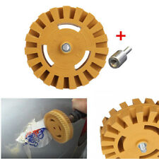 4'' * 1'' Glas & OEM Gemalte Oberflächen Aufkleber Gummi Rad Reinigungswerkzeug