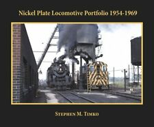 NICKEL PLATE Locomotive Portfolio 1954-1969 -- NEW BOOK