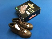 Brahma occupational boots, steel toe, oil & slip resistant, padded collar, brown