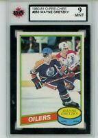 1980-81 80 O-Pee-Chee opc Wayne Gretzky 2nd year #250 -KSA 9 mint