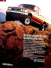 "1992 Toyota 4 WD  Xtracab.SR5 Original Print Ad 9 x 11"""
