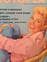 Vintage Collectible Movie Magazine Doris Day Cover October 1955