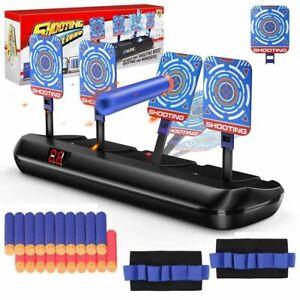 Electric Scoring Auto Reset Shoot Dart Digital Target for Nerf Gun Toy Kids Gift