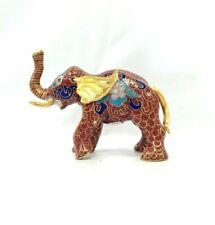 Vintage Chinese Cloisonne Elephant Figurine