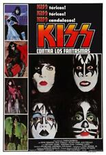 KISS  * POSTER * Meets Phantom of the Park ROCK ARGENTINA PRINT - Spanish