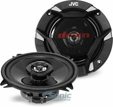 """JVC CS-DR520 5.25"""" 520W 2-Way Factory Upgrade Coaxial Car Stereo Speakers"""