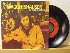 "7"" Single - STEFAN WAGGERSHAUSEN - Im Auge des Taifuns - 1987 - Neuwertig!"