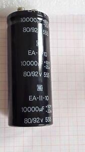 Radial Electrolytic Capacitor 80v 92V 10000uf 10mF JA technology BG made NOS HQ