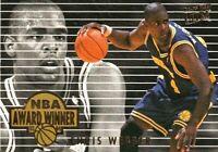 1994-1995 Ultraa Fleer NBA Award Winner Chris Webber Rookie of The Year #4.