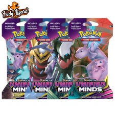 Pokemon TCG Sun & Moon Unified Minds Booster Blister Pack