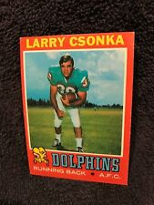 BEAUTIFUL 1971 Topps #45 Larry Csonka, Miami Dolphins, NM BEAUTY!