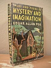 TALES & POEMS OF MYSTERY & IMAGINATION Poe 1942 PB Horror Macabre Frightening