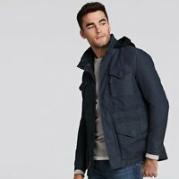 NWT Timberland Men's Mt Stickney M65 Jacket Military Inspired Coat Navy Size XL