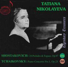 Kurt Masur, Tatiana Nikolayeva - 24 Preludes & Fugues [New CD] With DVD, Boxed S