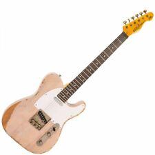 Vintage V62 Icon Electric Guitar - Distressed Ash Blonde V62MRAB