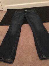 Aeropostale Bayla Skinny Womens Blue Denim Jeans Pants Sz 9/10 Short Clothes