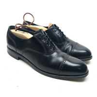 Florsheim 20382 Center Oxford Men's Black Dress Shoes Lace Up Cap Toe Size 8.5D