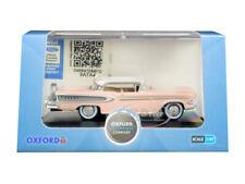 1958 Edsel Citation Chalk Pink 1/87 (Ho) Scale Diecast Car By Oxford 87Ed58003