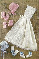 Baby Knitting Patterns Cape Bonnets Bootees Mitts 4ply & DK 0-6months 317