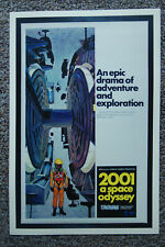 MOVIE POSTER 2001: A SPACE ODYSSEY KUBRICK 19155 24x36 SHRINK WRAPPED
