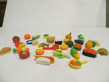 Pencil Eraser Novelty Cute Food Rubber Sets Children Party Gift