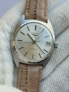 LONGINES 1586 AUTOMATIC CAL. L890.1 DATE MENS SWISS MADE JUST SERVICED