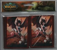 2 PACK LOT (160 Sleeves) - World of Warcraft Magic Pokemon Cards Deck Protector