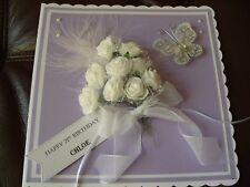 Handmade Personalised 21st, 30th 40th etc Birthday Card  in Box