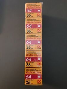 Kodachrome 64 135-36 - 35MM - 64 ASA Pack of 5 (2 of 7 packs)
