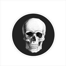 Motorcycle Skull Logo Vinyl Car Door Window Bumper Sticker Trunk Badge Decal