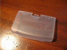 For Gameboy Advance Clean White Replacement Battery Cover GBA Cover Brand New