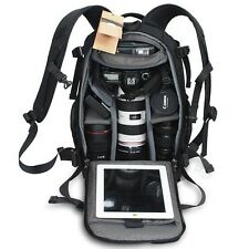 Anti-theft Professional Waterproof Camera Camcorder Backpack Bag For Canon Sony