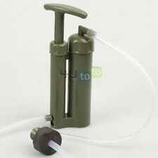 Water Filter Purifier Emergency Cartridge Soldier Hiking Camping fo Survival
