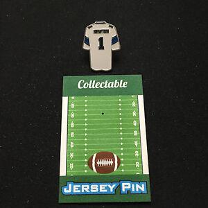 "Carolina Panthers Cam Newton lapel pin/jersey styled-K@@L""SUPERMAN"" Collectable"