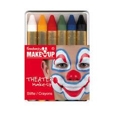 6 Schminkstifte für Kinderschminken und Karneval in Kunststoffbox TOP PREIS