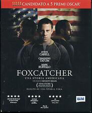Foxcatcher Blu-ray con Channing Tatum Steve Carrel Mark Ruffalo