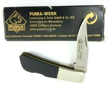 Puma Micro Lockback Knife GERMANY Buffalo Horn + Box Rare 5916-TP