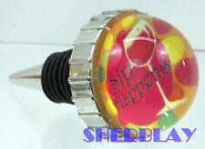 Ganz Decorative SIP HAPPENS Wine Bottle Stopper Whimsical Collectible Cork