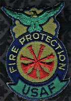 USAF United States Air Force Fire Protection Patch Subdued = 96 Military Surplus
