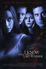 "I KNOW WHAT YOU DID LAST SUMMER 1997 Original  DS 2 Sided 27x40"" Movie Poster"