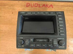Lexus/Toyota Aristo GS300 GS430 Navigation Control Climate Radio Cassete RHD
