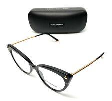 Dolce & Gabbana DG 3291 501 Black Women Authentic Eyeglasses Frame 54-17