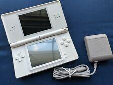 New listing Nintendo Ds Lite Usg-001 Crystal White cleaned + tested