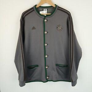 ADIDAS Bayern Munich Knit Cardigan Jacket Track Top 2013/14 SZ XXL (G625)