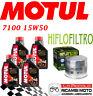 BMW R GS 1150 2000 2004 KIT TAGLIANDO 4 LT MOTUL 7100 15W50 + FILTRO OLIO