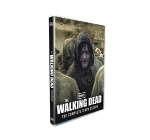 The Walking Dead 10 DVD, Complete Tenth Season 5-Disc Set Brand New Sealed