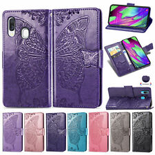 Leather Phone Case Card Holder Wallet Flip Cover For Samsung A10 A51 S9 S10 S20