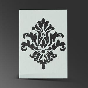 Damask Stencil Mylar Sheet Painting Wall Art Craft Airbrush 190 Micron
